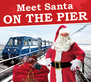 Santa's Grotto on Southend Pier
