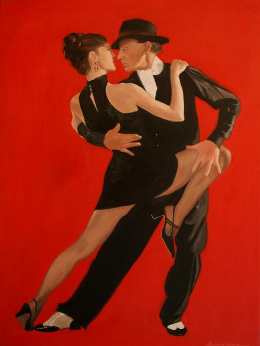Argintinian Tango Dance Shoes