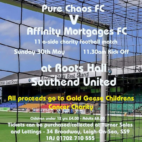 Pure Chaos FC V Affinity Mortgages FC