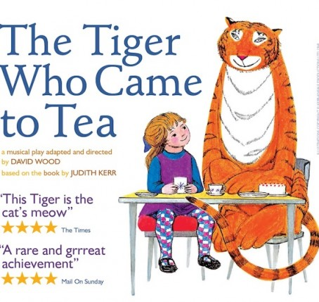The Tiger Who came to Tea - The Palace Theatre